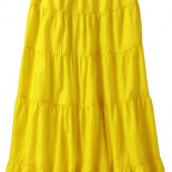 This week, Old Navy is featuring flowing skirts from just $19 for women and $15 for girls*.  These beautiful tiered maxi skirts feature ruffle trim layers and gorgeously breezy gauze...