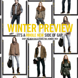 Winter just got a lot warmer because you're also invited to be the first to see what's new for winter, discover a whole new side of Gap and SAVE money.